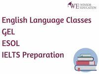 English Language Courses / GEL / ESOL / IELTS Preparation