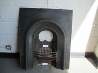 VICTORIAN CAST IRON FIRE INSERT FREE DELIVERY