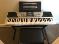 RockJam RJ661 Teaching Keyboard, in excellent condition