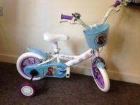 """12"""" Disney Frozen Bike **PERFECT & EXCELLENT CONDITION**"""
