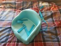 Baby High Chair / Booster Seat - Blue - Excellent Condition