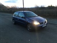 RENAULT CLIO 1.1 full y mot and timing belt done