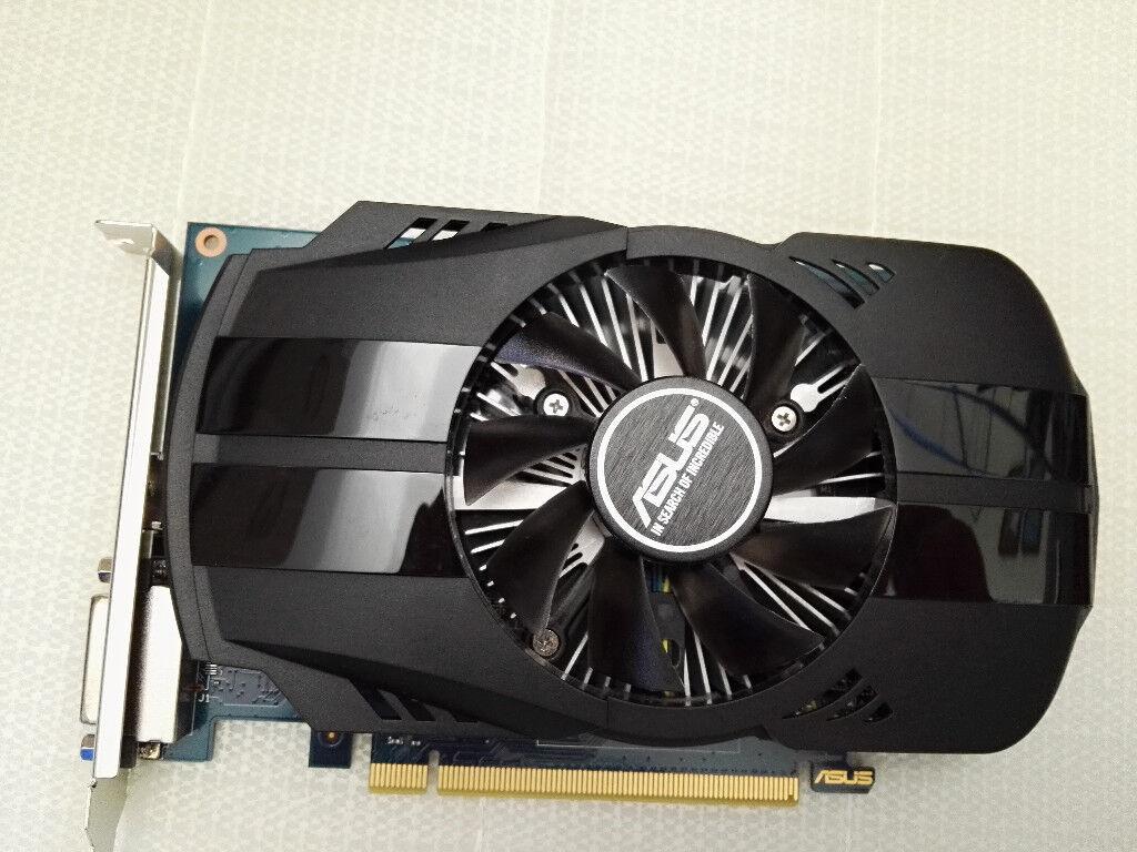 Asus Ph Gt1030 O2g Geforce Gt 1030 2 Gb Gddr5 Graphics Card In 2gb Ddr5