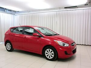 2015 Hyundai Accent RAORING RED!!! 5DR HATCH w/ HEATED SEATS, BL