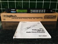 DIGITECH STUDIO QUAD V2 4 IN 4 OUT MULTI FX PROCESSOR WITH MIDI