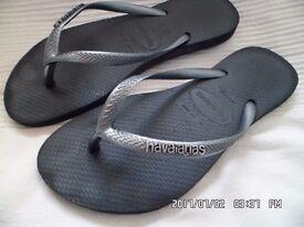 ladies size 3.5 havaianas flip flops
