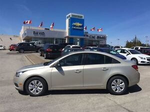2013 Chevrolet Cruze LS CD/MP3 PLAY, AC, WHEEL COVERS!!