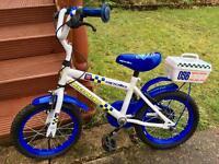 Kids Apollo police bike, 14 inch