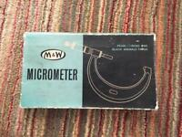 M&W Micrometer