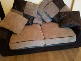 Large 3 and 2 Seater Sofa