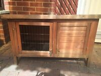 Rabbit or guineapig outdoor hutch