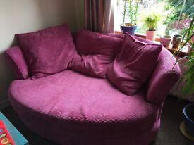 DFS Sofa Cuddler Chair