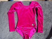 GIRLS 'ZS' LEOTARD - SIZE 30 - AGE 9-10 APPROX; LONG SLEEVE