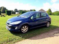 Peugeot 308 for sale. Petrol, 57 Reg, 61000 miles, 5 doors, hatchback, panoramic glass roof