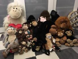 Monkeys soft toys