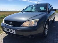2004 GOOD CONDITION FORD MONDEO LX,1.8CC PETROL,SERVICE HISTORY,MOT 18TH MARCH 2018,CAR DRIVES GREAT