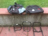 Motorbike luggage rack