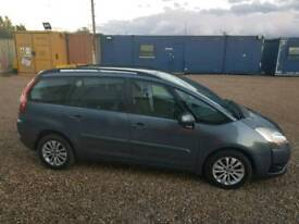 Citroen c4 grand Picasso 1.6hdi 2008 for swap only open to offers