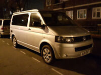 VW T5.1 T5 Campervan Van Converted Pop Top garaged 4 Berth London E14 / Reading Px Yaris Automatic