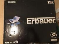 Erbauer 750w Tile Cutter wet Saw ERB337TCB