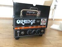 New Orange Dark Terror 15w Valve Guitar Head, Bargain price 90£