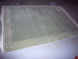 Large, green rug for sale