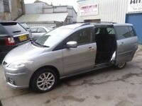 Mazda 5 Takara,7 seat MPV,1 previous owner,2 keys,full MOT,new cam belt and water pump,