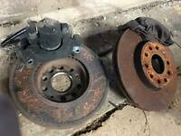 Mk1 touran front disks, pads and calipers