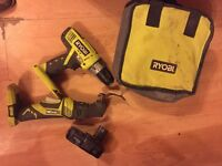 Ryobi One+ 18v - Drill - multitool - charger