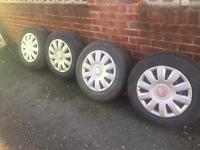 Seat Wheels and Tyres 195/65/16