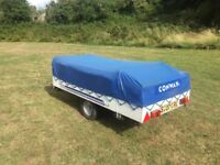 CONWAY OLYMPIA TRAILER TENT IN PRISTINE CONDITION