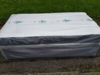 Brand New Quilted Comfy Single Mattress and base set FREE Delivery