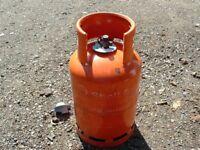13kg Butane 'FULL' bottle with regulator, Patio heater / BBQ gas