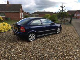Vauxhall Astra 1.6 16V SXi 2001