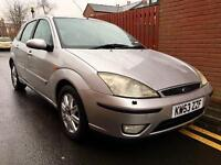 2004 Ford Focus Ghia Tdci 1.8 Diesel. Full Service and MOT.