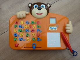 Learn to write with Alphy Bear - fun way to learn the alphabet and writing the letters