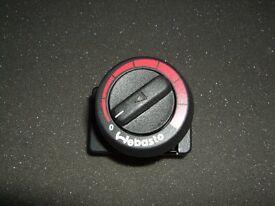 BOAT CAMPERVAN CARAVAN MOTORHOME WEBASTO AIR TOP HEATER CONTROLLER / SWITCH 83052 B (BRAND NEW)