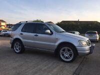 Mercedes ML270 CDI. Alloy wheels, aircon, electric windows