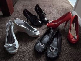 Bundle of women's shoes (will sell as bundle or separately)