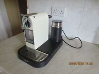 Magimix Nespresso Citiz and Milk coffee machine M190 CREAM colour