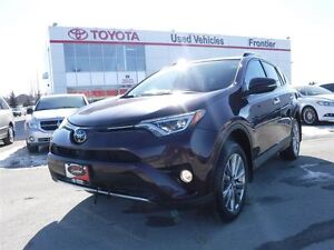 2016 Toyota RAV4 Limited TOYOTA CERTIFIED PRE OWNED