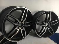 Mercedes alloys wheels 18 inch only 2