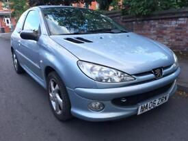 2006 Peugeot 206 Sport 1.4 ONLY 65k miles Long Mot