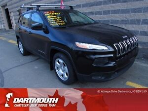 2014 Jeep Cherokee SPORT/PWR OPTIONS/6 CYL