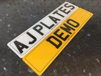 Car number plates 100% mot legal DELIVERY AVAILABLE