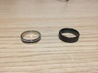 Brand New Titanium Rings Unisex