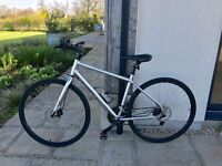 Hardly used Kona Dew Plus hybrid bike