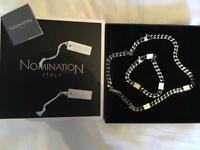 Nomination bracelet and necklace - Made in Italy