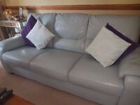 Italian Leather Sofa, Brilliant!! Condition