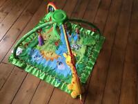 Fisher Price Rainforest Jungle Gym Play Mat.